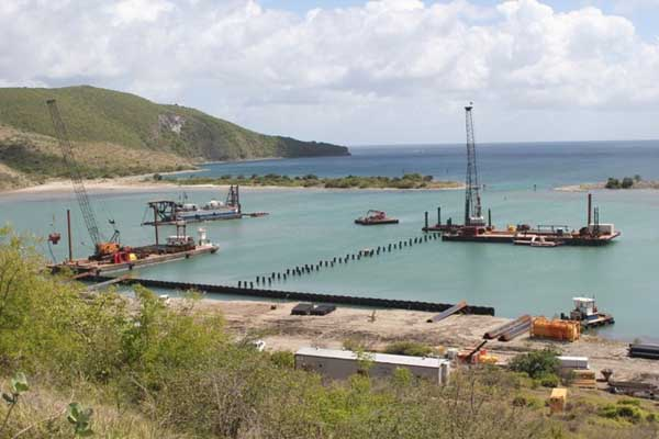 Christophe Harbour vision is being transformed into a reality, says PM Douglas