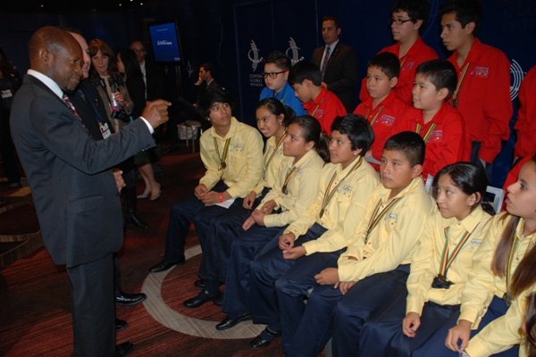PM Douglas tells young nationals they can impact the world