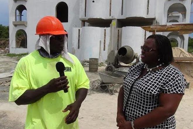 Minister Brandy-Williams congratulates Lazarus