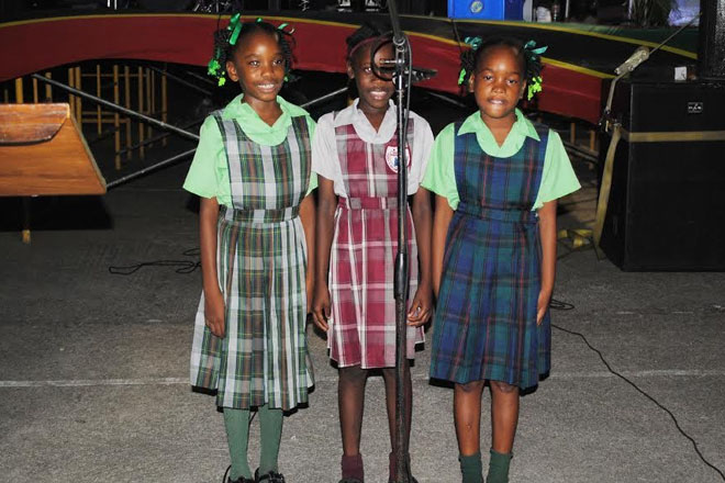 Prime Minister Harris salutes nation's future leaders