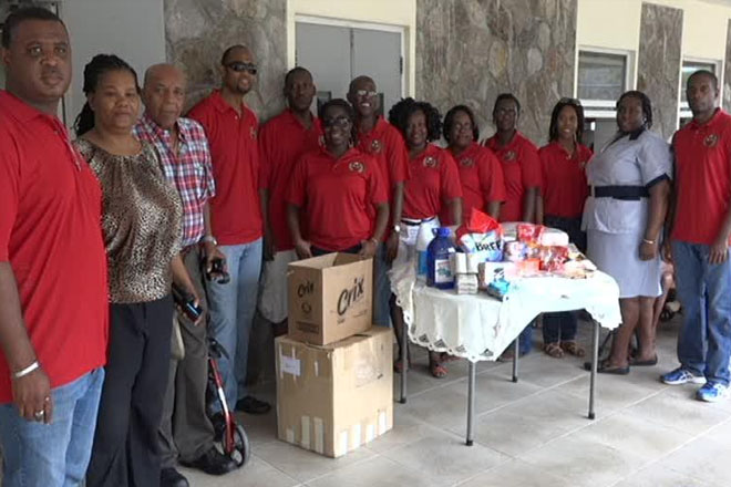Cuban Alumni Association in St. Kitts and Nevis donates to Nevis seniors
