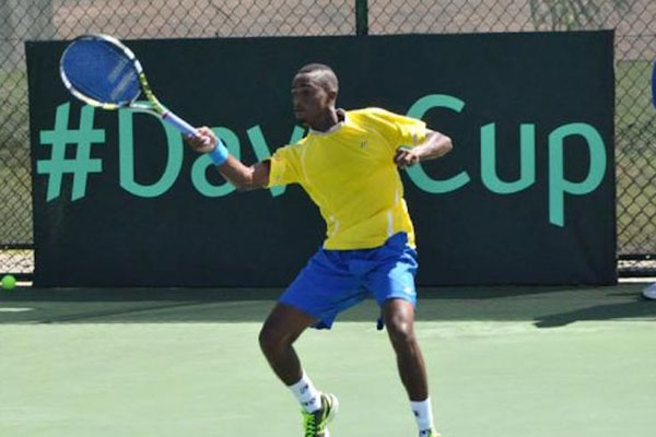 Barbados No. 1 Darian King smeared by tennis court tantrum