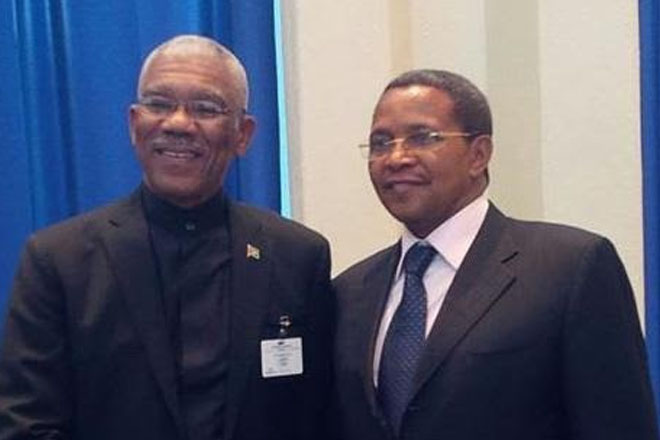 Guyana's new government and African allies renew historical ties
