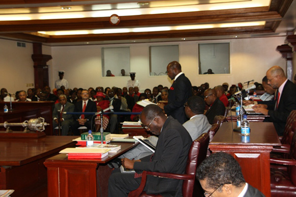 PM Douglas expected to present EC$470 million Budget for 2014 in Parliament