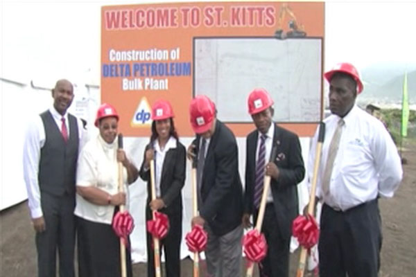 Delta Petroleum breaks ground in St. Kitts