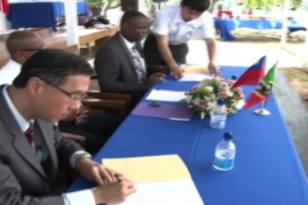 Demonstration Farm Handed Over To Government