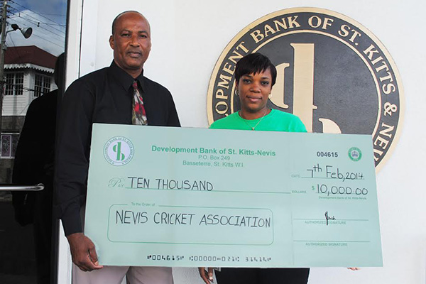 Development Bank using cricket to develop Federation's youth