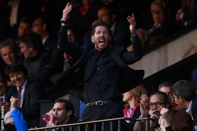 Atletico Madrid: Diego Simeone handed three-game La Liga ban