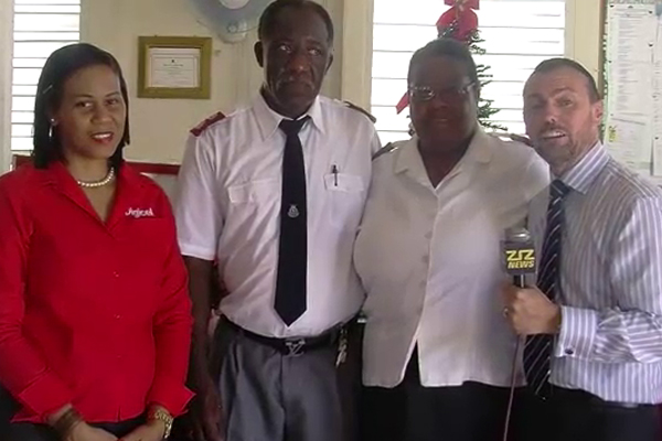 Digicel Donates to the Salvation Army