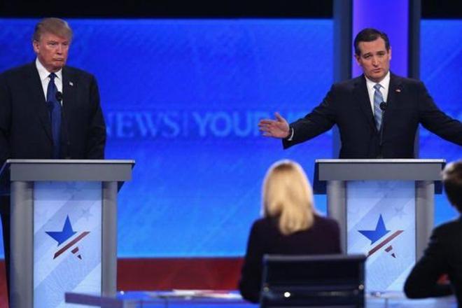 Trump and Cruz seek 'one-on-one' battle