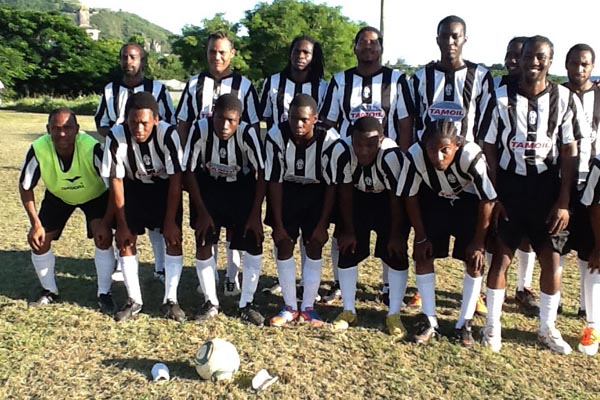Dr Norgen Wilson Soho United FC run riot in Sandy Point Community Football League
