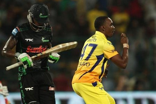 Bravo delivers easy win for Chennai