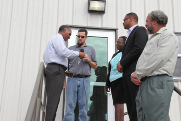 Nevis Premier welcomes new EOC building from US Government