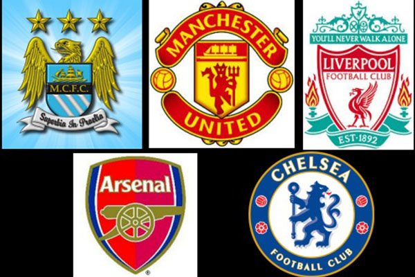 English Premier League season starts today, the top five