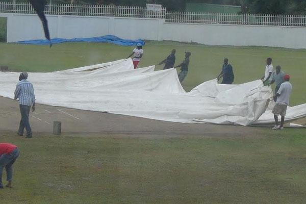 Rain saves Nevis' Blushes