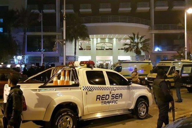 Egypt attack: Three tourists stabbed at Hurghada hotel