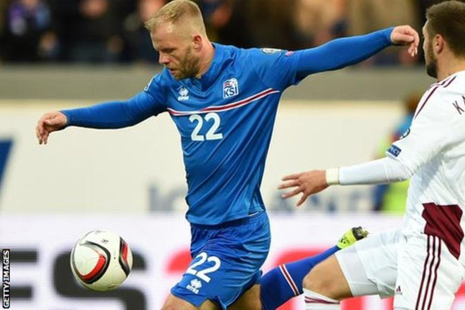 Eidur Gudjohnsen, 37, named in Iceland's Euro 2016 squad