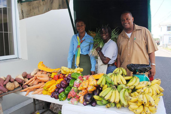 Development Bank salutes Emontine Thompson on being named patron of Nevis' Agriculture Open Day