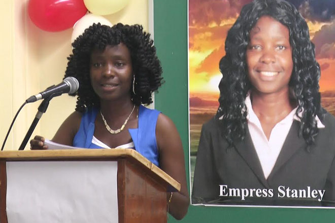 Empress Stanley launches new book