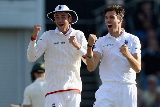 Steven Finn puts England in touching distance of win