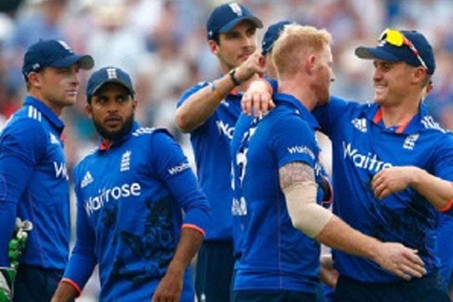 Vibrant England show nerve in five-run win