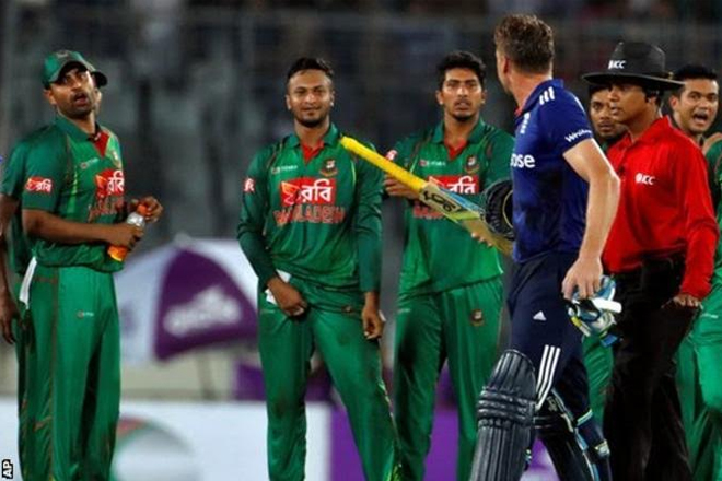 Jos Buttler: England skipper 'disappointed' with Bangladesh celebrations