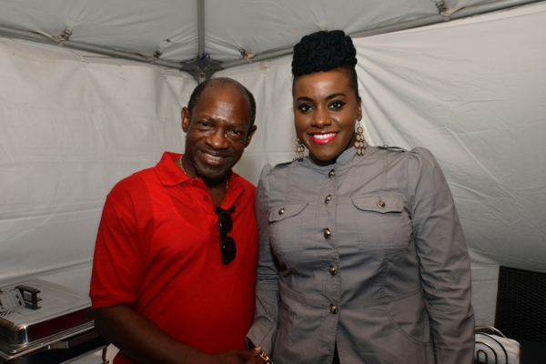 Etana meets Prime Minister Douglas and new Labour Party candidates