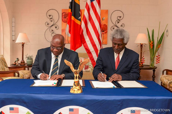 St. Kitts-Nevis signs U.S. Foreign Account Tax Compliance Act