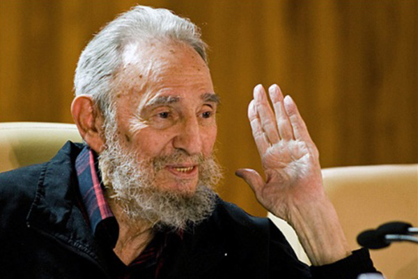 Fidel Castro has first public appearance in 9 months
