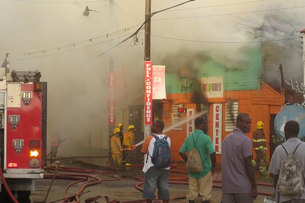 Cayon street fire