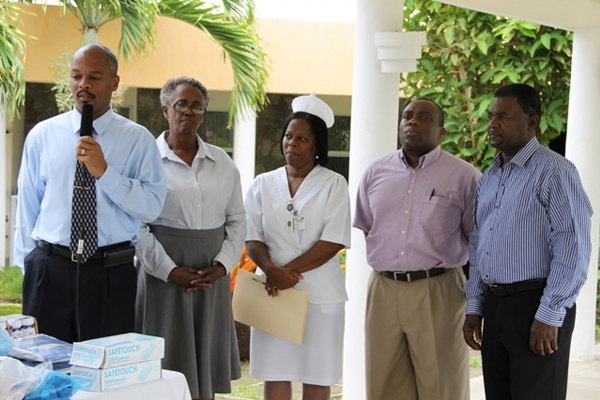 Nevis Flamboyant Nursing Home receive medical supplies from British-based Company