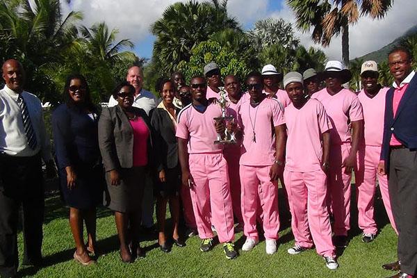 Four Seasons Cricket Team Receives Trophy