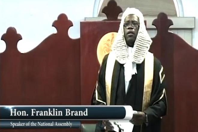 Speaker of the House Resigns