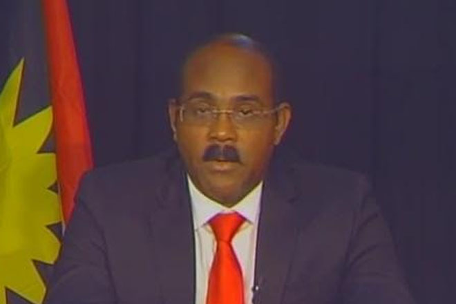 PM recommits to ending corruption in Antigua-Barbuda