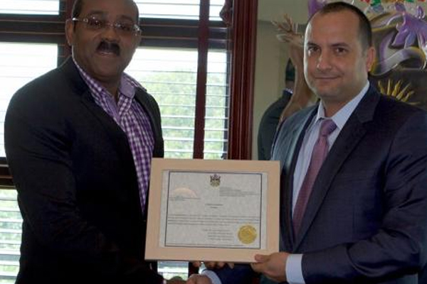 Antigua-Barbuda appoints another special economic envoy