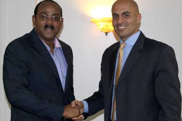 Antigua-Barbuda signs US$120 million luxury hotel joint Venture