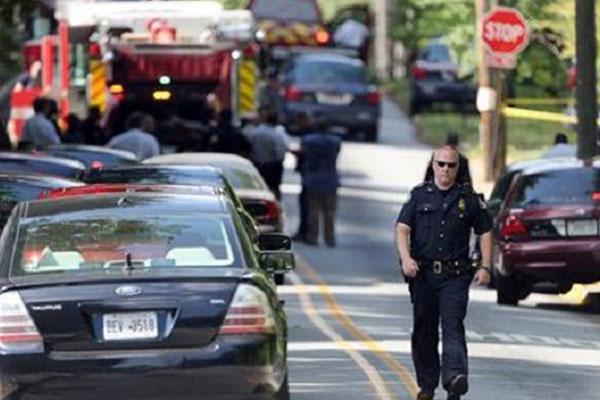 17-y-o arrested in shooting near Georgia school