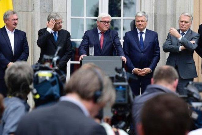 Brexit: Merkel says 'no need to be nasty' in leaving talks
