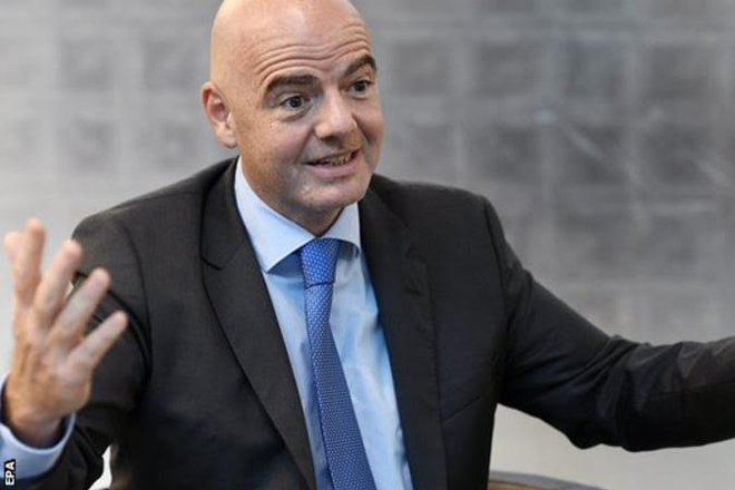 World Cup: Fifa president Gianni Infantino wants 48-team tournament