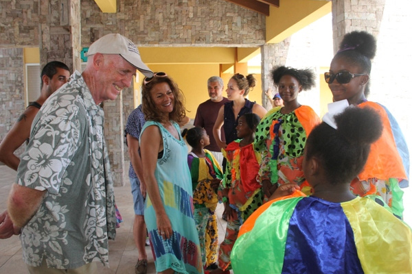 Globe to Globe members fall in love with Nevis during working visit