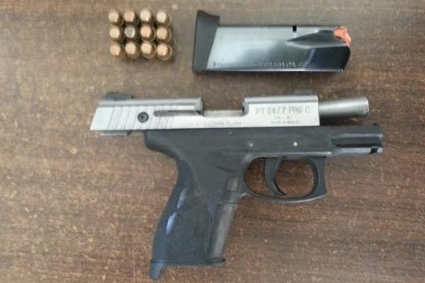 Police Seize Gun and Ammunition