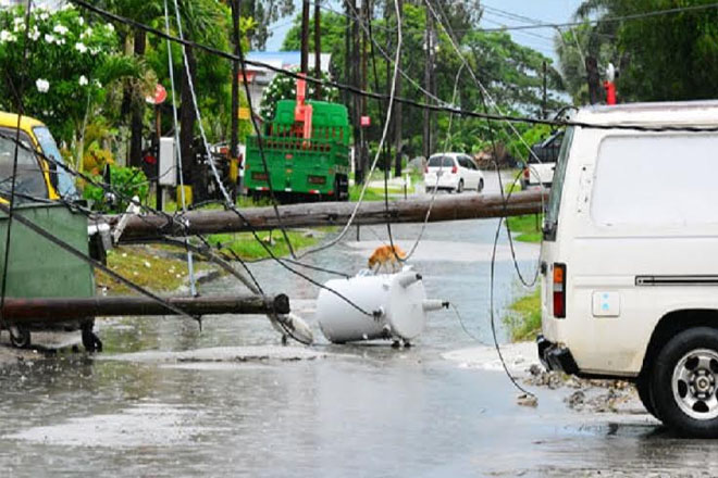 Electricity disrupted, houses damaged in Guyana storm