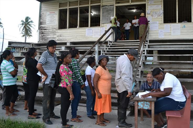 Voting in first local government elections in Guyana in 22 years