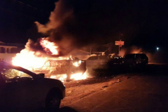 Political parties appeal for calm after night of unrest in Guyana