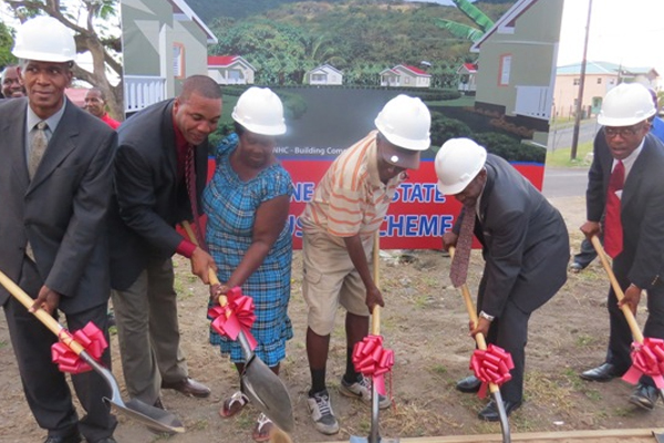 Ground broken at Stone Fort for Habitat 30, Minister Phillip stresses home ownership vital to raising the standard of living
