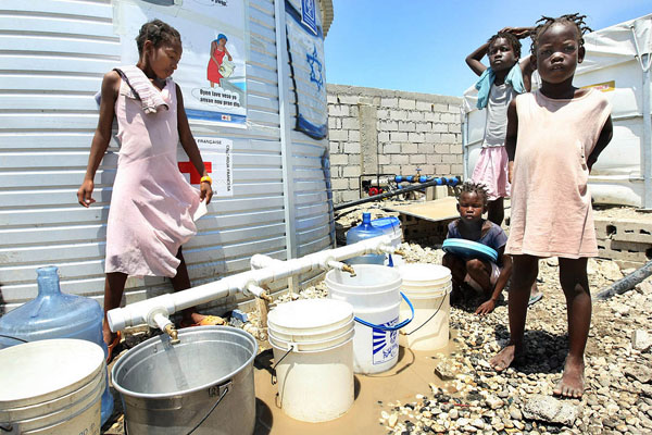 UN, World Bank chiefs rally support 'to build a healthy Haiti'