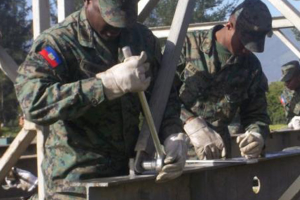 Haiti's new military force launches operations