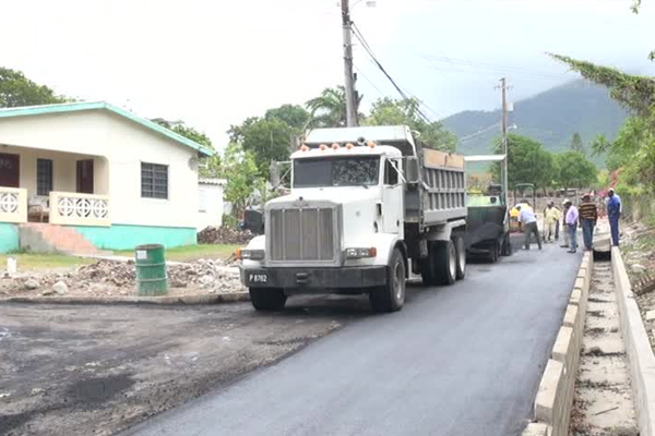 Hamilton Road works nearing completion; resident expresses satisfaction