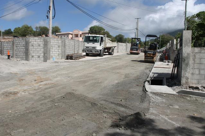 Hanley's Road Rehabilitation Project remains on budget, Jr. Minister Liburd reports
