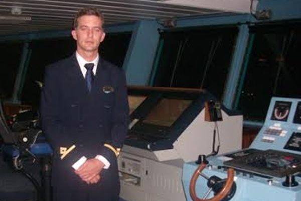 Nevisian is one of three Second Officers onboard when Quantum of Seas berths at St. Kitts' Port Zante